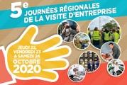 5e Journées Régionales de la Visite d'Entreprise du 22 au 24 octobre 2020