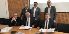 Signature de la Convention d'Objectifs et de Moyens (COM)