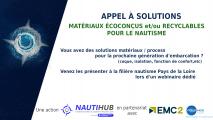 Appel à solutions Matériaux écoconçus et recyclables pour le nautisme